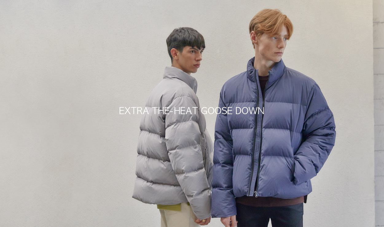 EXTRA THE-HEAT GOOSE DOWN - 더니트컴퍼니