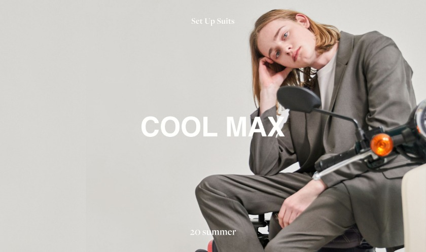 20SS COOLMAX SET-UP SUITS LOOKBOOK - 더니트컴퍼니