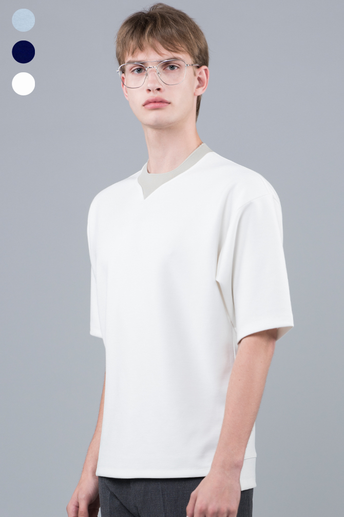 17ss Neck Point T-shirts