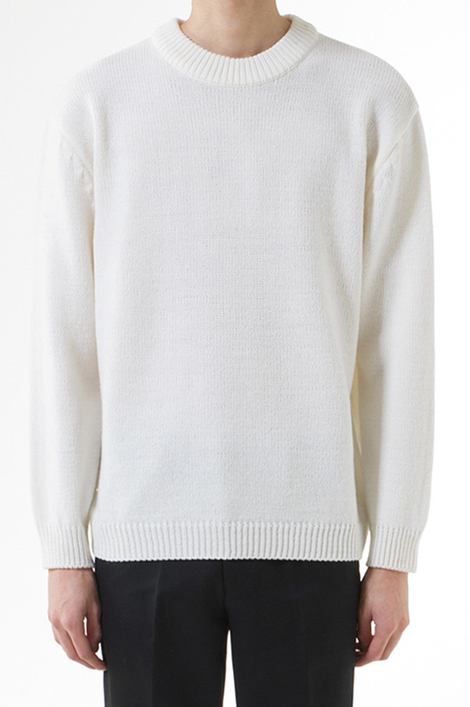 Basic Semi-Over Knit(40% OFF)